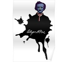Edgar Allan Poe ink blot Culture Cloth Zinc Collection Poster