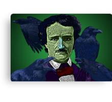 Edgar Allan Poe portrait Culture Cloth Zinc Collection Canvas Print