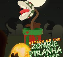 Night of the Undead Piranha Plants by Teague Hipkiss
