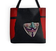 Guy Fawkes V for Vendetta Anonymous mask Culture Cloth Zinc Collection Tote Bag