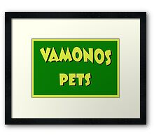 Vamonos Pets Framed Print