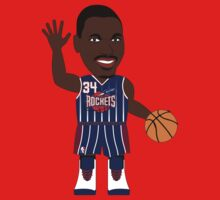 NBAToon of Hakeem Olajuwon, player of Houston Rockets by D4RK0