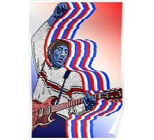 Pete Townsend The Who by Culture Cloth Zinc Collection Poster