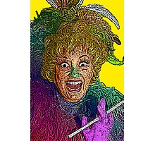 Phylis Diller by Culture Cloth Zinc Collection Photographic Print