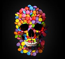 Candy Skull by KittyBitty1