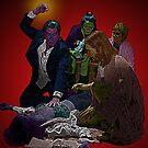 Pulp Fiction Overdose by Culture Cloth Zinc Collection by CultureCloth