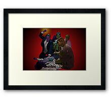 Pulp Fiction Overdose by Culture Cloth Zinc Collection Framed Print