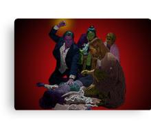 Pulp Fiction Overdose by Culture Cloth Zinc Collection Canvas Print