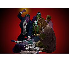 Pulp Fiction Overdose by Culture Cloth Zinc Collection Photographic Print