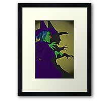 Wicked Witch of the West Wizard of Oz by Culture Cloth Zinc Collection Framed Print