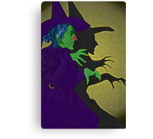 Wicked Witch of the West Wizard of Oz by Culture Cloth Zinc Collection Canvas Print