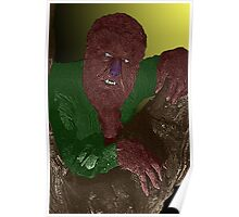 The Wolfman Horror Movie by Culture Cloth Zinc Collection Poster