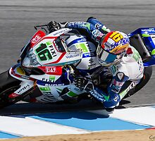 Jules Cluzel at Laguna Seca 2013 by corsefoto