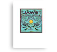 JAWS HAWAII SURFING Canvas Print