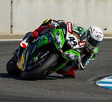 David Salom at Laguna Seca 2013 by corsefoto