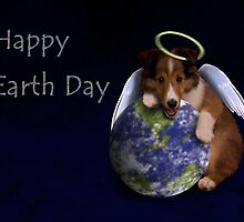 Happy Earth Day Angel Sheltie by jkartlife
