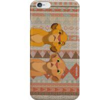 Simba & Nala iPhone Case/Skin