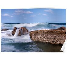 Oceanic Waves Poster