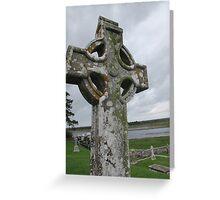 Monastery of Clonmacnoise Greeting Card