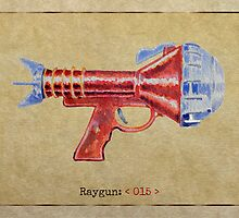 Raygun 015 by Garabating
