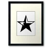 Texas Star Punk | SteezeFactory.com Framed Print