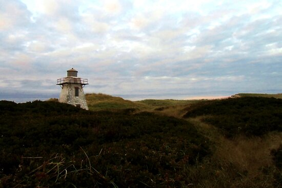 St. Peters Harbour Lighthouse I by Kathleen Daley