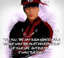 "M. BISON - ""Tuesday"" by Bucky Sentry"