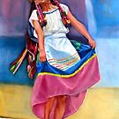 a Mexican dancing girl by Hidemi Tada