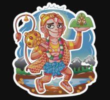 Hanuman - Hindu God - Bunch of Bhagwans Kids Clothes