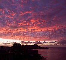 Dawn Over Oahu by Adrian Alford Photography