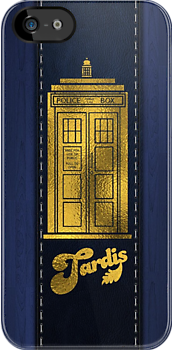 Tardis Phone Cover by viperbarratt