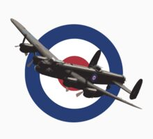 Avro Lancaster T-Shirt by James Biggadike
