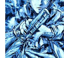 Attack on Titan: Levi on iPhone Case by Ruo7in