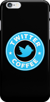 Twitter Coffee by Royal Bros Art