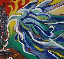 """Denpasar"" Illustration Florianne Vuillamy by Eric Tchijakoff"