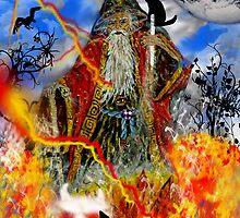 Wizard by WildestArt