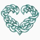 Celtic Heart - Evergreen trim only by portiswood