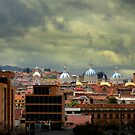 Dramatic Skies Over Cuenca by Al Bourassa