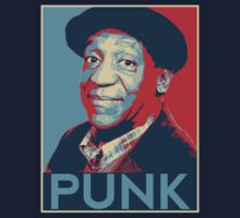 "Bill Cosby ""PUNK"" hope poster by Rohan Matthews"