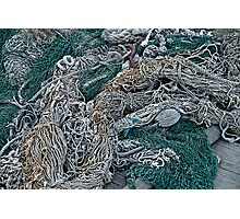 Fishing Net & Gear Photographic Print