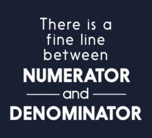 There is a fine line betweeen numerator and denominator by trends