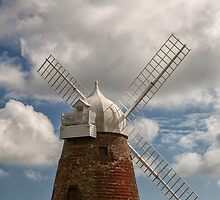 Halnaker Windmill by Judi Lion