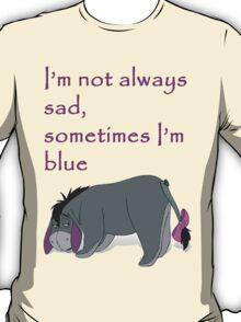 Blue eeyore  T-Shirt
