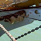 Double Figurehead on Tall Ship...............!  by Roy  Massicks