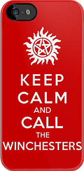 Keep Calm And Call The Winchesters by Royal Bros Art