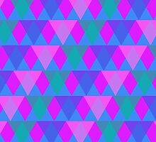 Triangular Coloration by themerrybrain