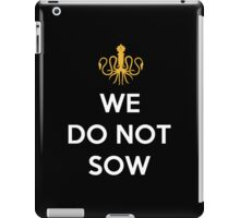 House Greyjoy We Do Not Sow iPad Case/Skin