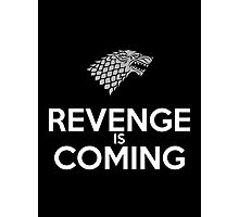 House Stark Revenge Is Coming Photographic Print