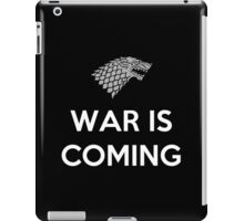 House Stark War Is Coming iPad Case/Skin