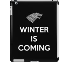 House Stark Winter Is Coming iPad Case/Skin